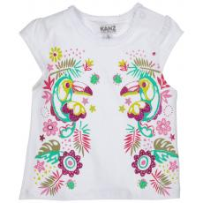 Kanz Mädchen T-Shirt Paradise Parrot
