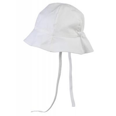 name it UV- Schutz Hut mit Bändchen YPSI MINI in weiß