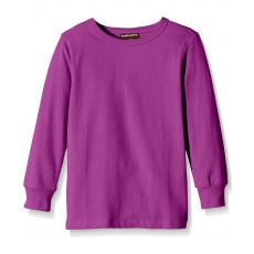 maxomorra Langarmshirt in lila Purple GOTS Gr. 50/56