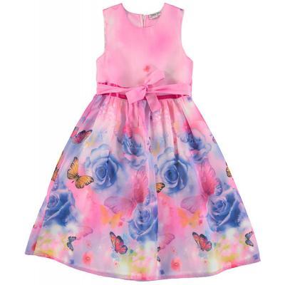 Topo festliches Kleid mit Schmetterlingen