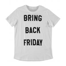 name it Mädchen Shirt nitelmine Bring back Friday weiß