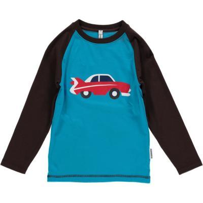 maxomorra Langarmshirt mit Auto Print Car GOTS