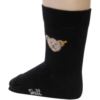 Steiff Socken mit Bär 20608 Black Iris