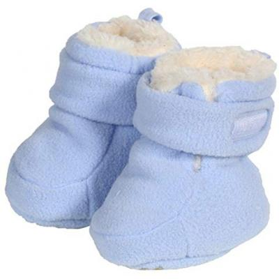 Döll Jungen Winter Fleece Schuhe Hellblau