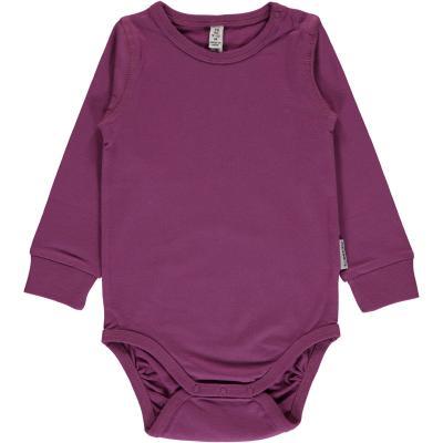 maxomorra einfarbiger Mädchen Body Lila  - Purple