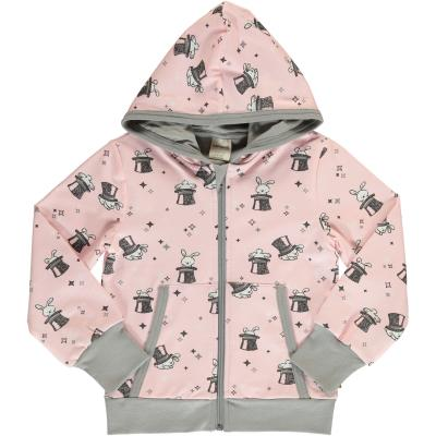 maxomorra Kapuzenjacke Cardigan Hood MAGIC RABBIT