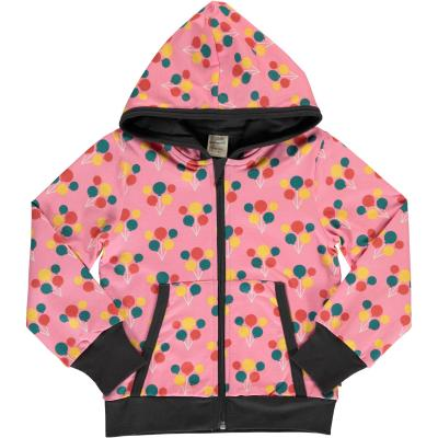 maxomorra Kapuzenjacke Cardigan Hood PARTY BALLOON