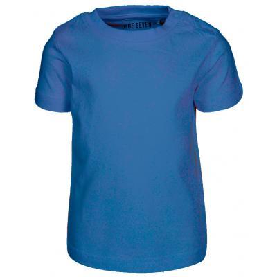 blue seven einfarbiges Kurzarm Shirt in Blau (Ocean)