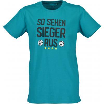 blue seven Fussbal Fan Shirt 602663 Blau
