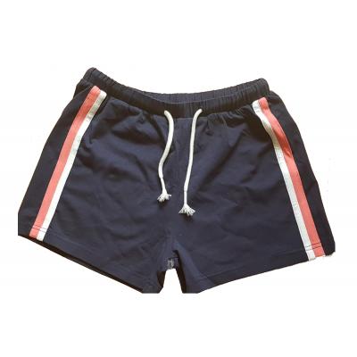 Topo Mädchen Shorts in dunkelblau mit Streifen
