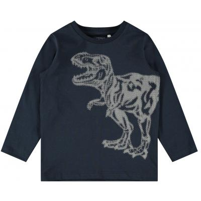 name it Jungen Langarm Shirt Dinosaurier nmmOLLA