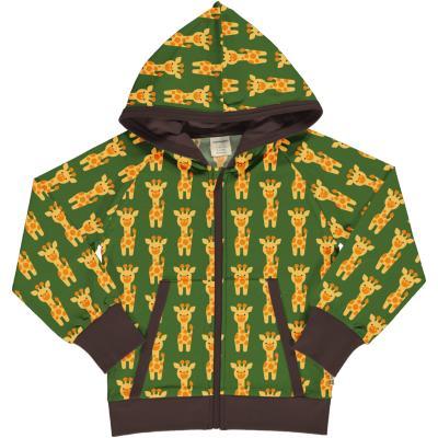 maxomorra Kapuzenjacke mit Giraffen Cardigan GIRAFFE