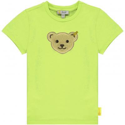 Steiff T-Shirt mit Quietsche Bär 3124 Limeade (grüngelb)