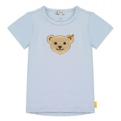 Steiff T-Shirt mit Quietsche Bär 3124 Kentucky Blue