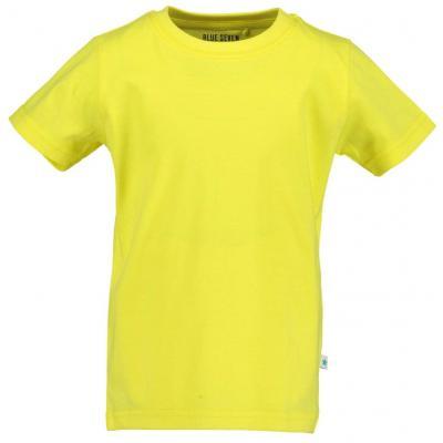 blue seven einfarbiges Kurzarm Shirt in gelb