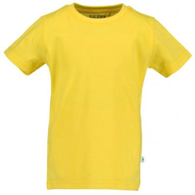 blue seven einfarbiges Kurzarm Shirt in warmes gelb