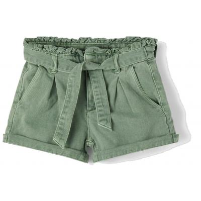 name it Paperbag Mom Shorts nkfBECKY in grün