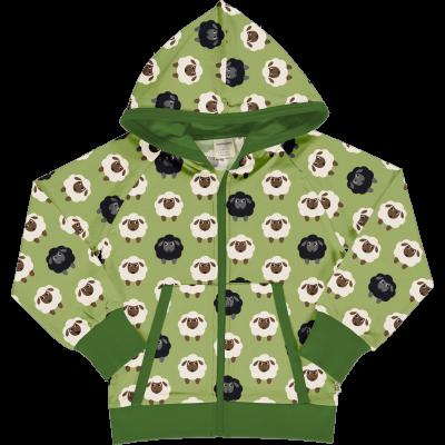 maxomorra Kapuzenjacke mit Schafen Cardigan SHEEP