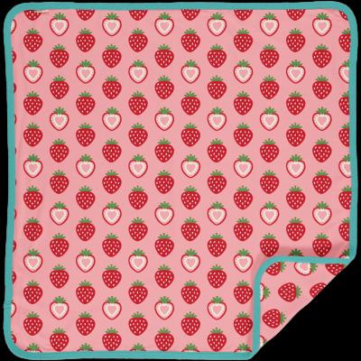 Maxomarra Babydecke mit Erdberren Blanket STRAWBERRY