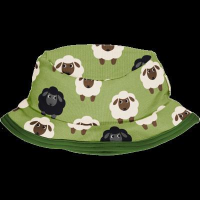 maxomorra UV Schutz 50 Sonnenhut in grün Hat Sun SHEEP