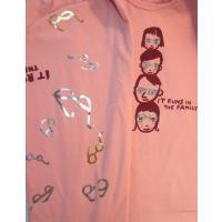 Imps & Elfs Shirt mit Glitzer Print und Schal Gr. 104