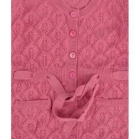 Kanz festliche rosane Strickjacke 1513257
