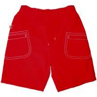 boboli, bequeme Shorts in rot, unisex