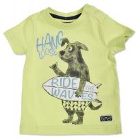 blue seven T-Shirt mit Hund 928030 limette Gr. 62