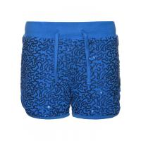 name it Pailletten Shorts nitKACY Blau