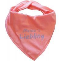 Dreieckstuch Mamas Liebling Baby Schal rosa