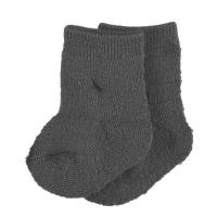 name it Baby Wollsocken Wak Wool grey melange