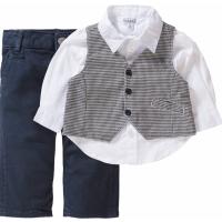 Kanz Jungen Anzug Weste Hemd Hose festlich Preppy Babys 1722856