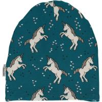 maxomorra Beanie Mütze mit Einhörnern Unicorn Dreams