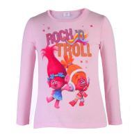 Trolls Langarmshirt Rock´n Troll 81001 Rosa