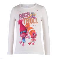 Trolls Langarmshirt Rock´n Troll 81001 Ecru