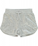 name it Pailletten Shorts NITHACY silbergrau