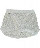 name it Pailletten Shorts NITHACY silbergrau