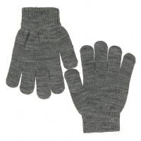 name it Strick Handschuhe Grau 9-12 Jahre
