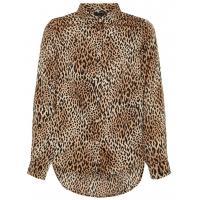 name it leichte Bluse mit Animalprint Leopard nlfSISSEL