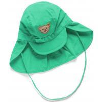 Steiff Schirmmütze mit Nackenschutz 3610 Aqua Green