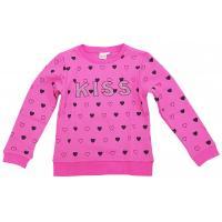 Topo Mädchen Sweatshirt mit Herzchen 670690 Pink