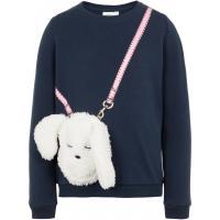 name it mini Sweatshirt mit Häschen Tasche nmfNANY
