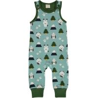 maxomorra Strampler Playsuit WINTER WORLD