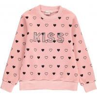 Topo Mädchen Sweatshirt mit Herzchen 670690 Rosa
