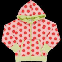 maxomorra Kapuzenjacke Cardigan Hood Wassermelonen Watermelon