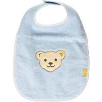Steiff Baby großes Lätzchen mit Bär blau 1321