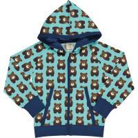 maxomorra Kapuzenjacke mit vielen Bären Cardigan Hood BEAR