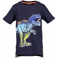 BLUE SEVEN Kurzarm Shirt Dinosaurier dunkelblau