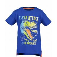 BLUE SEVEN Kurzarm Shirt Dinosaurier blau