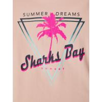 name it Mädchen Sommer T-Shirt nkfVIX Peach